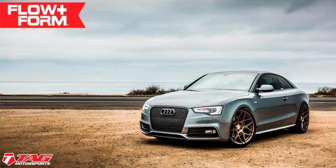 Audi S5 на бронзовых дисках HRE Wheels в апгрейде TAG Motorsports