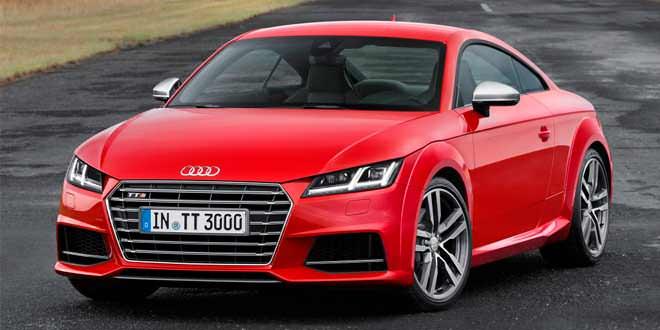 Известны цены Audi TTS Coupe нового поколения в Германии