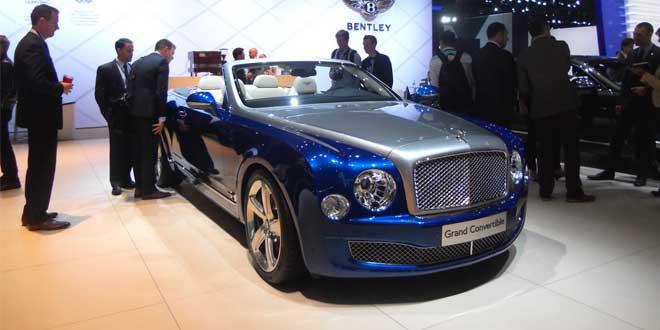 Кабриолет Bentley Grand Convertible показали в Лос-Анджелесе