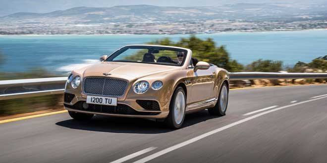 Компания Bentley обновила модели Continental GT и Flying Spur