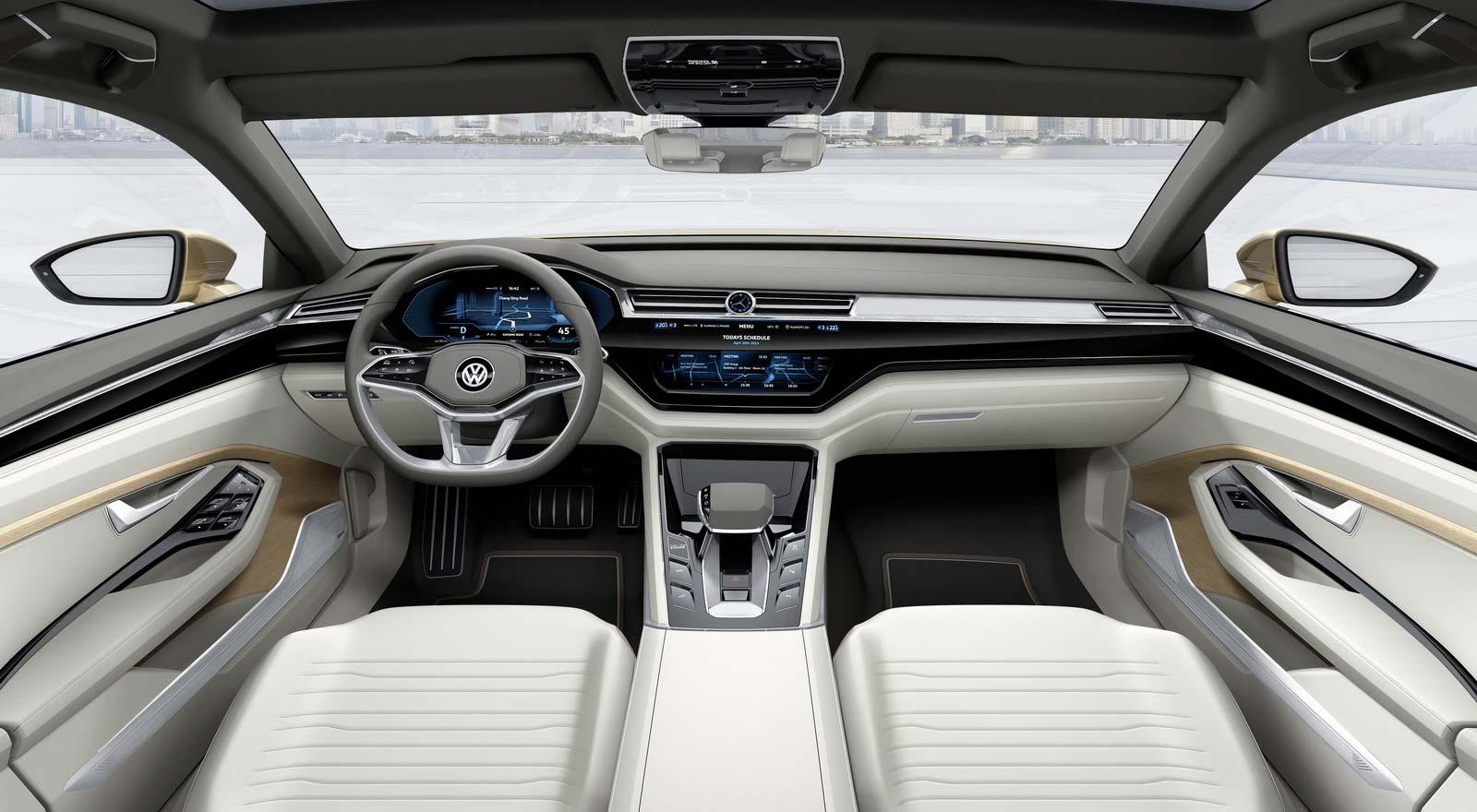 Салон Volkswagen C Coupe GTE
