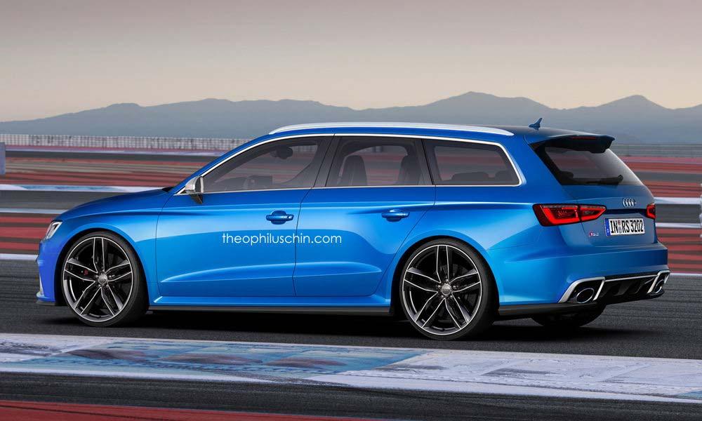 «Горячий» универсал Audi RS3 Avant