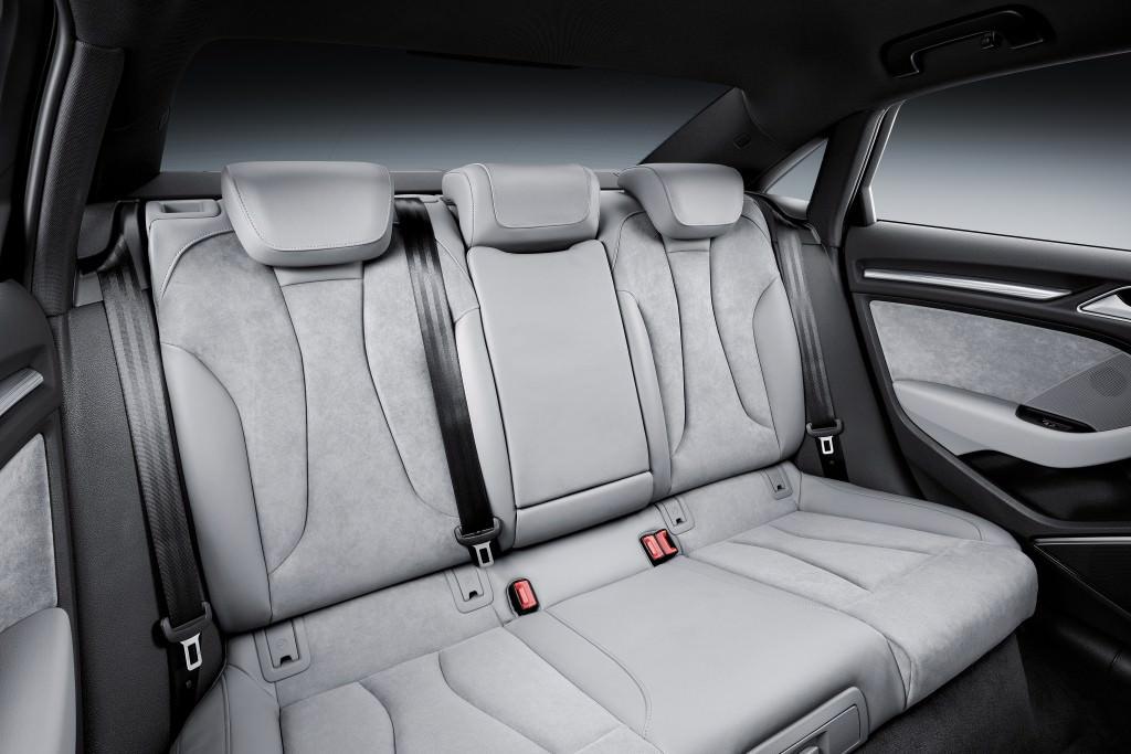 Задние сиденья Audi A3 Sedan