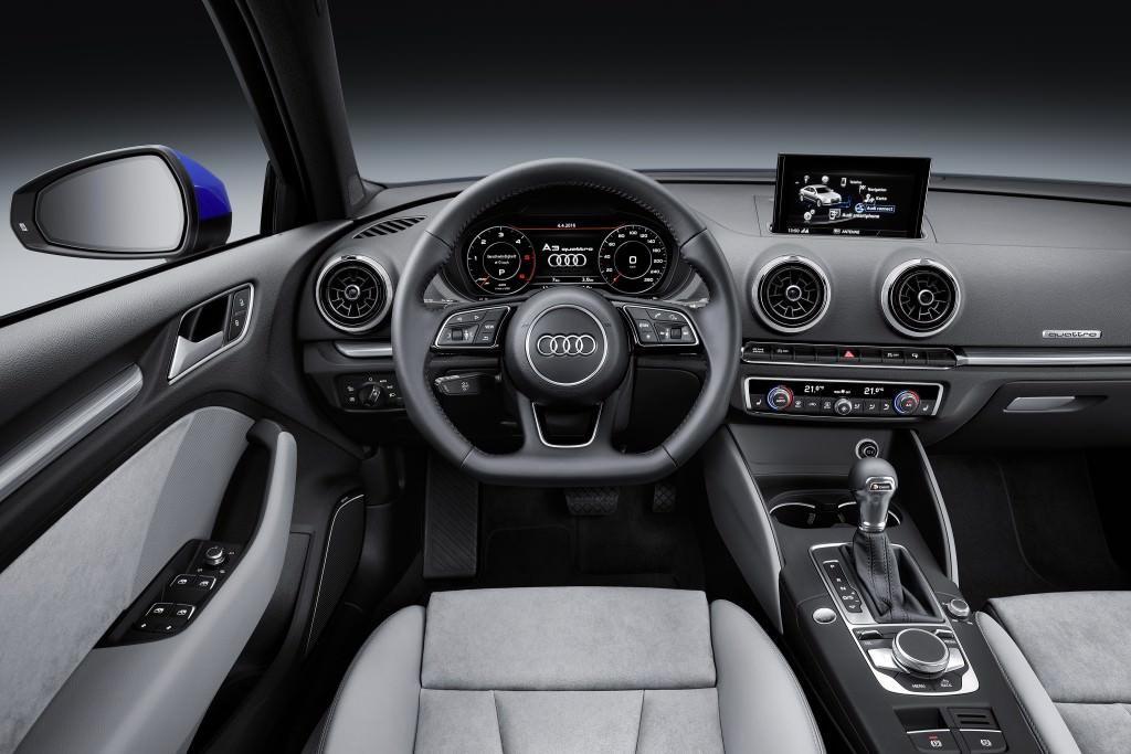 Торпедо Audi A3 Sedan 2017