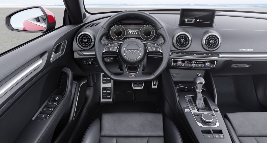 Торпедо Audi A3 Cabriolet 2017