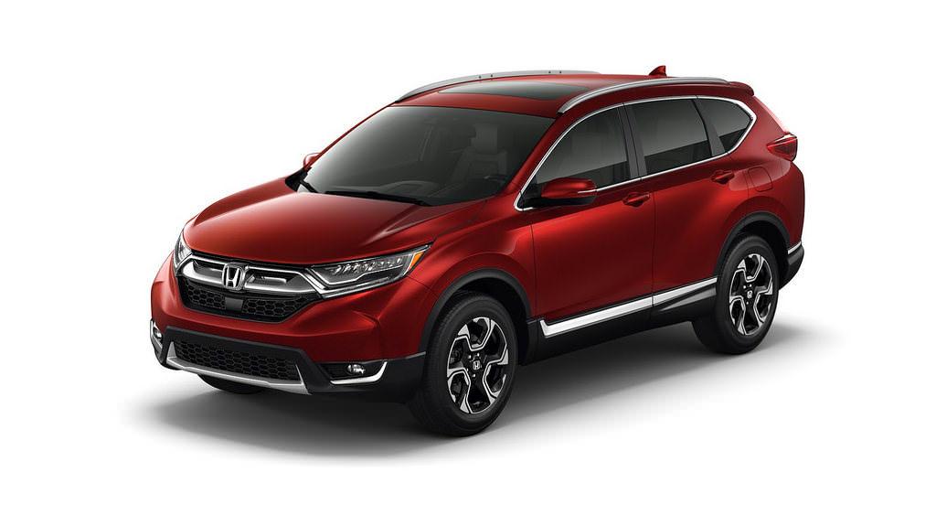 Новый кроссовер Honda CR-V 2017