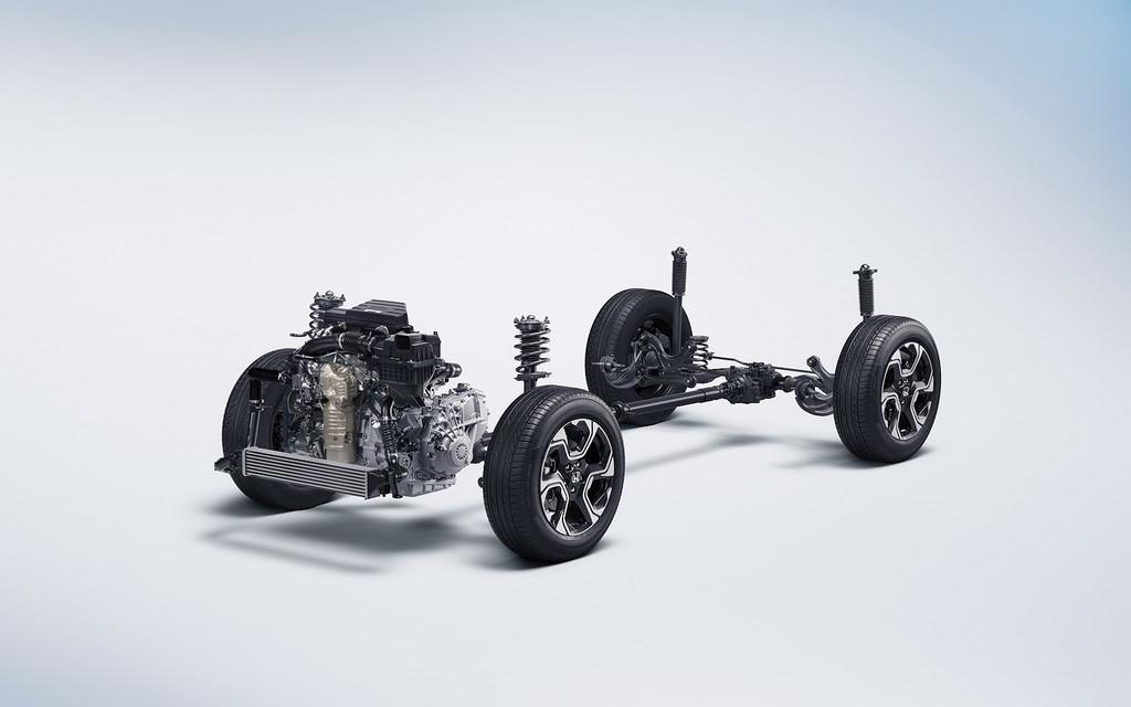 Шасси Honda CR-V пятого поколения