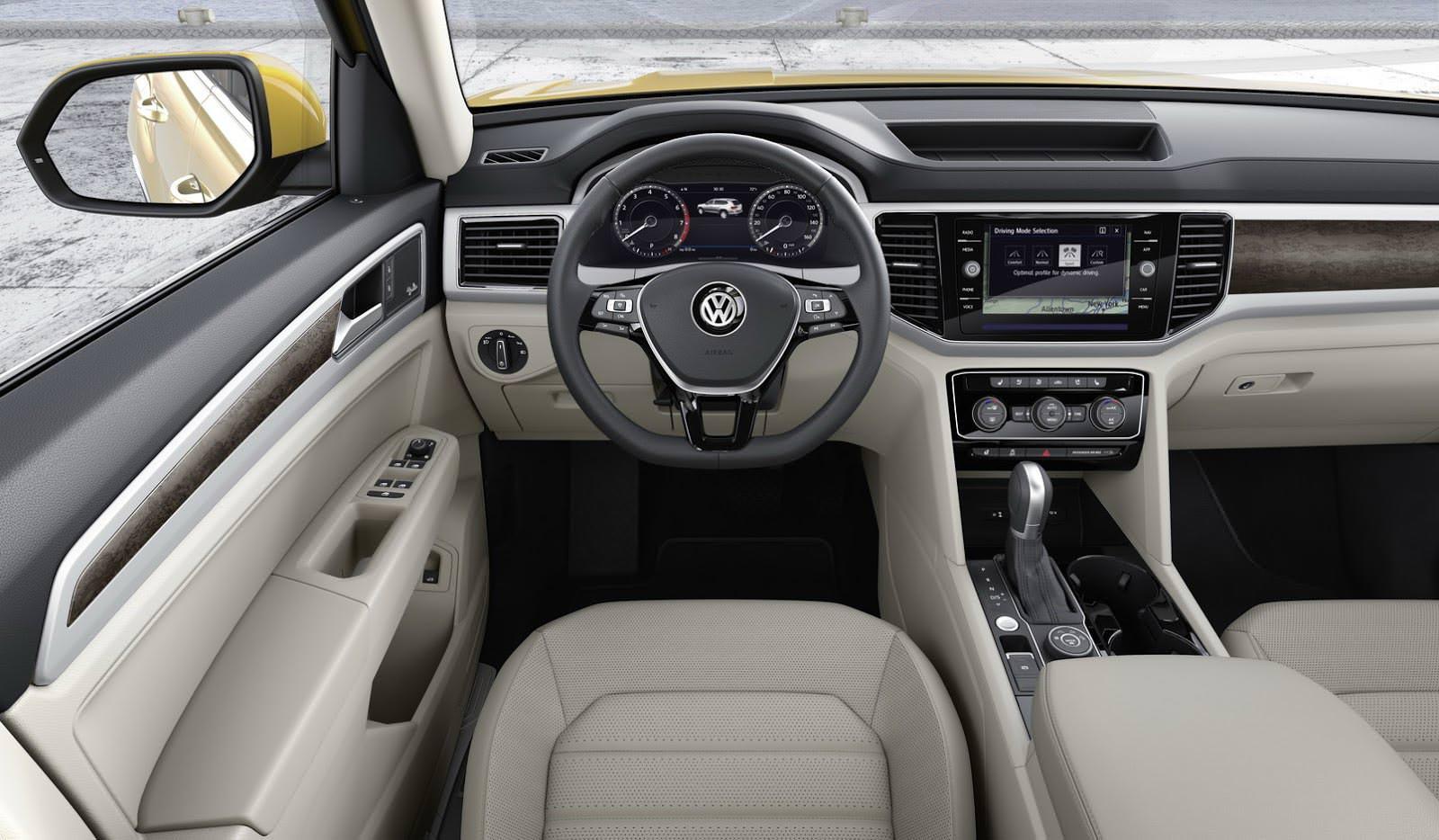Торпедо Volkswagen Atlas