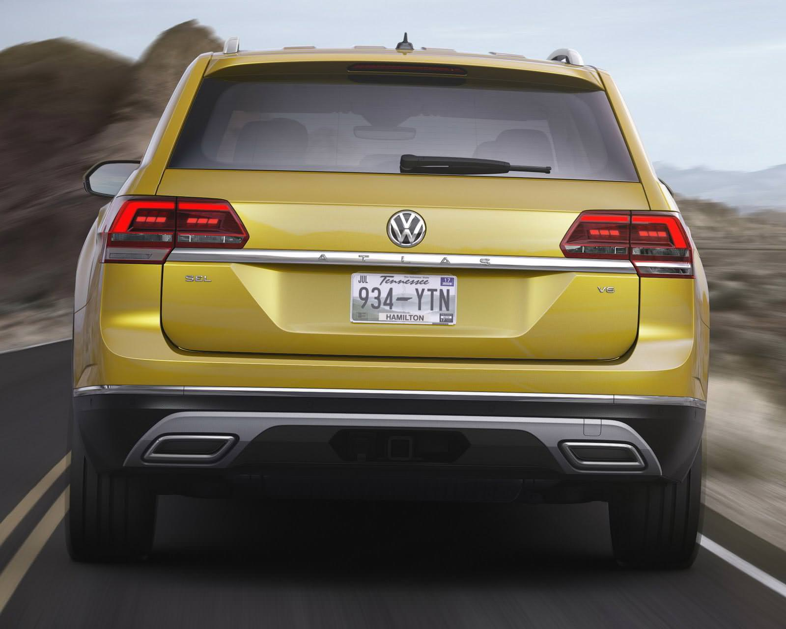 Новый Volkswagen Atlas 2017