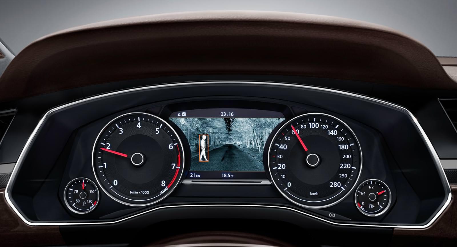 Цифровая приборная панель Volkswagen Phideon