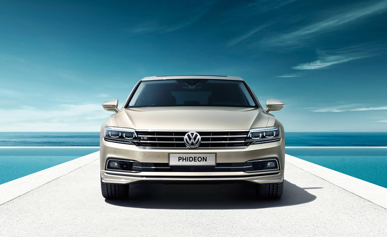 Премиальный седан Volkswagen Phideon