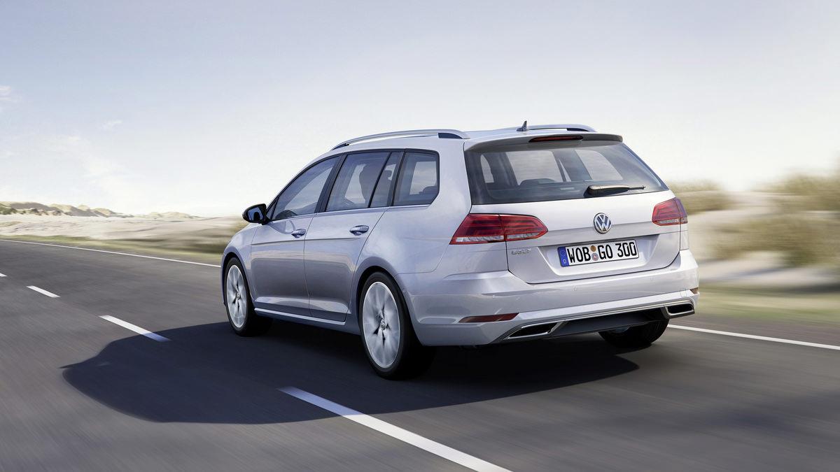 Новый универсал Volkswagen Golf Variant 2017