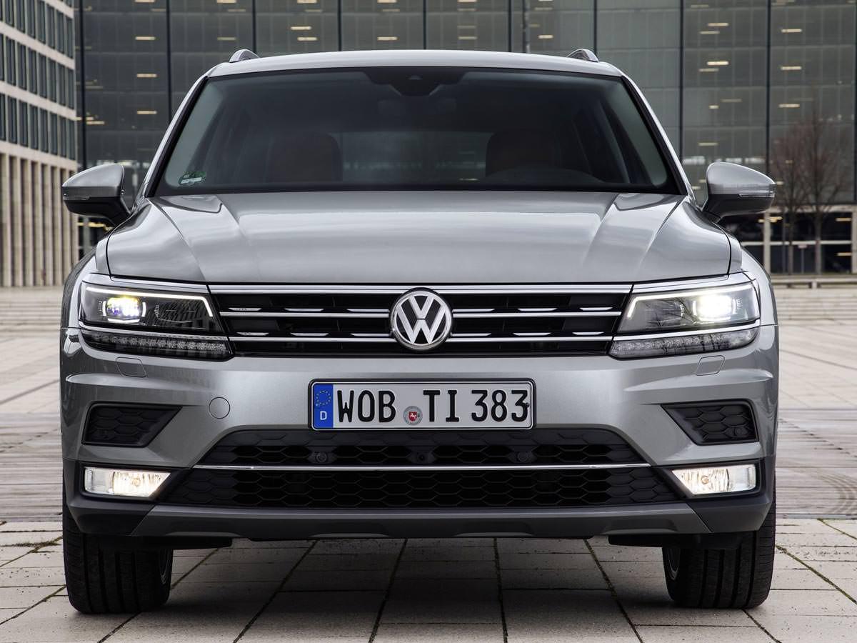 Новый Volkswagen Tiguan в Украине