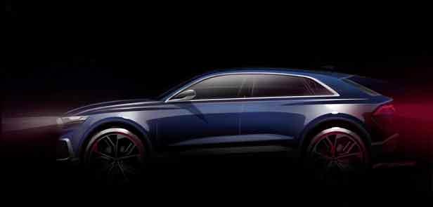 Внедорожник Audi Q8 e-tron