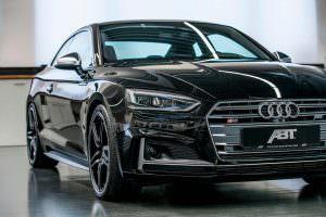 Чёрная Audi S5 Coupe от ABT Sportsline