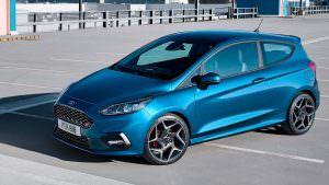 Горячий хэтчбек Ford Fiesta ST нового поколения