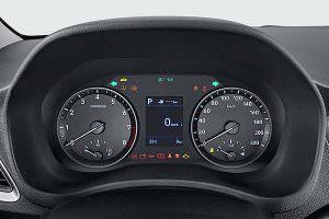 Приборная панель Hyundai Solaris