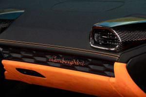 Салон Lamborghini Huracan Spyder