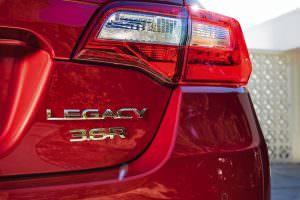 Новые задние фонари Subaru Legacy 2018