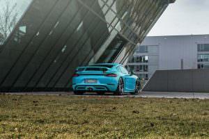 Porsche 718 Cayman. Тюнинг TechArt