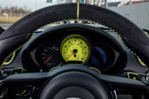 Панель приборов Porsche 718 Cayman