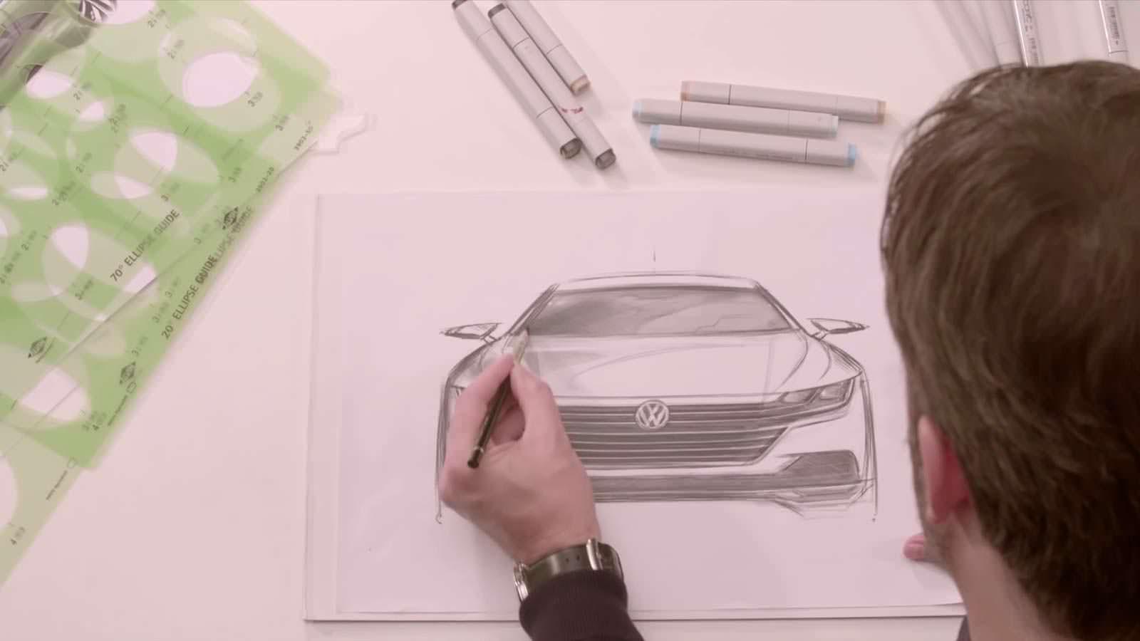 Скетчи Volkswagen Arteon