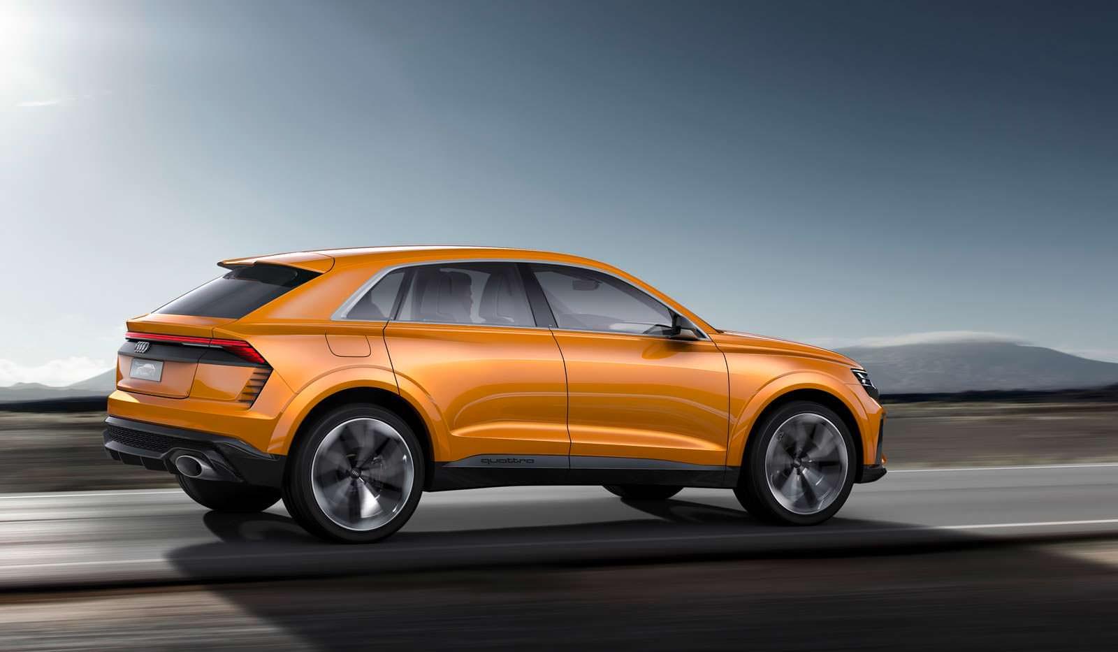 Концептуальный внедорожник Audi Q8 Sport Concept