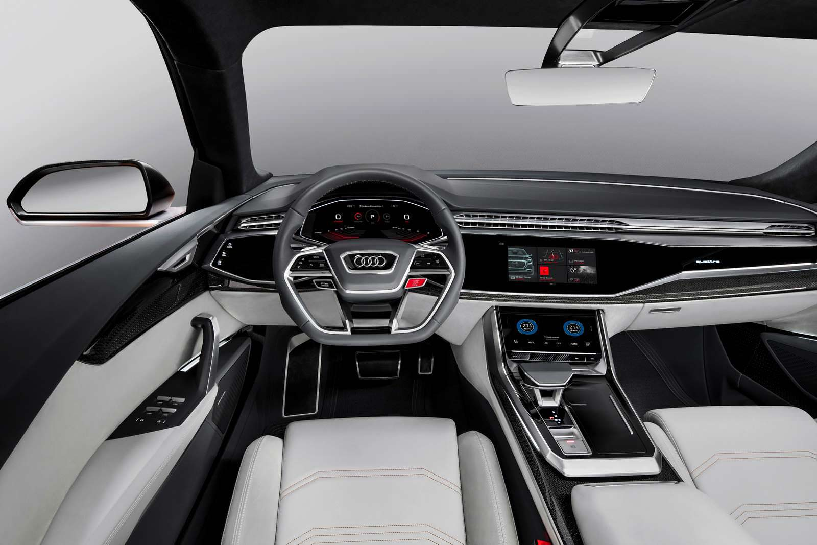 Салон Audi Q8 Sport Concept