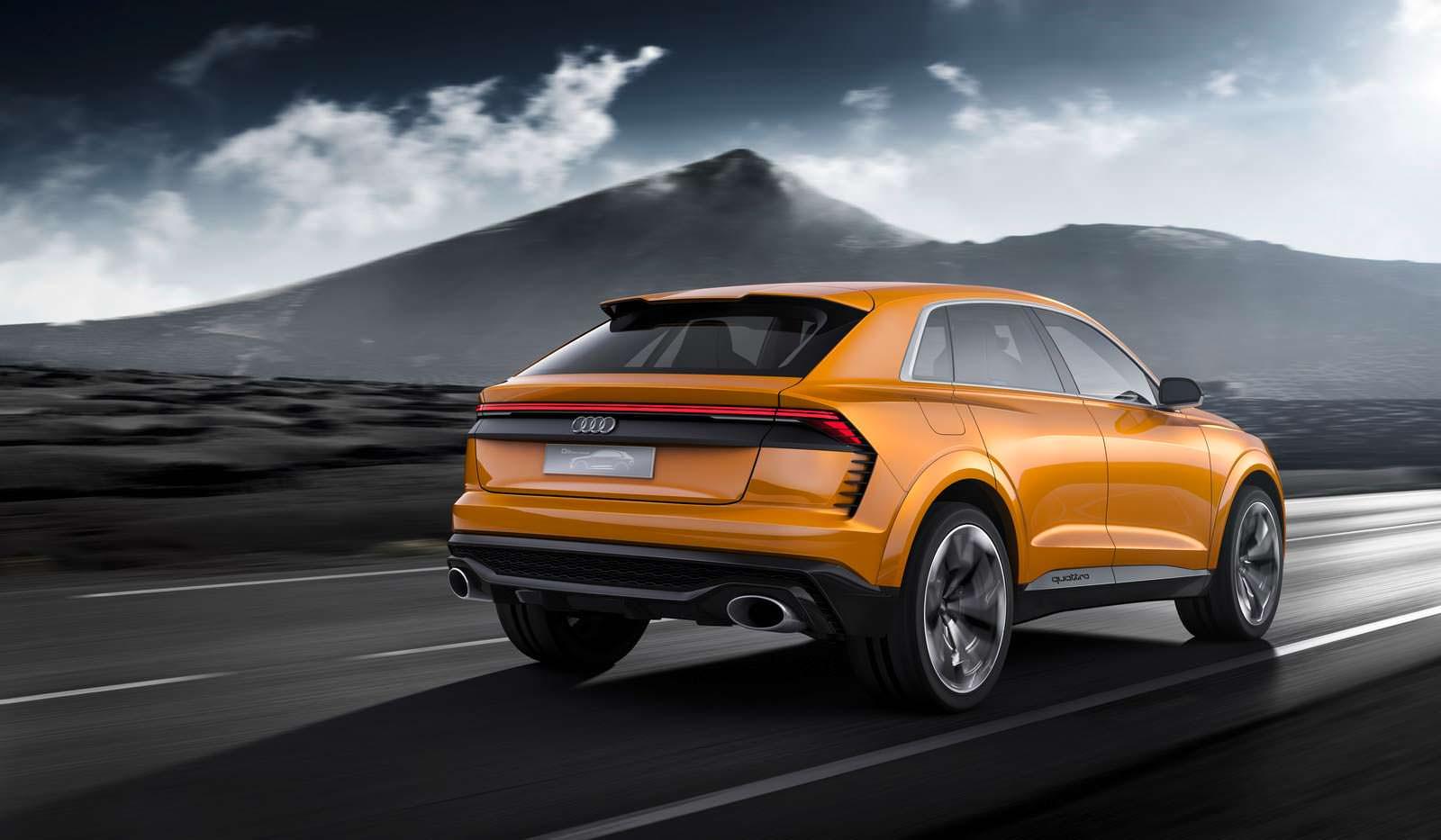 Гибридный концепт Audi Q8 Sport