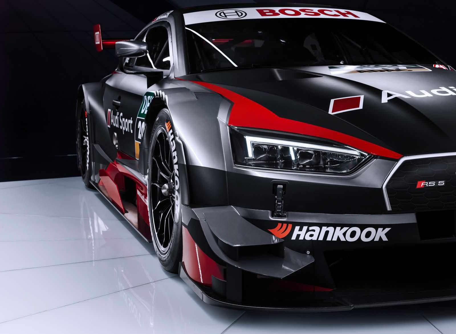 Гоночная Audi RS5 DTM нового поколения