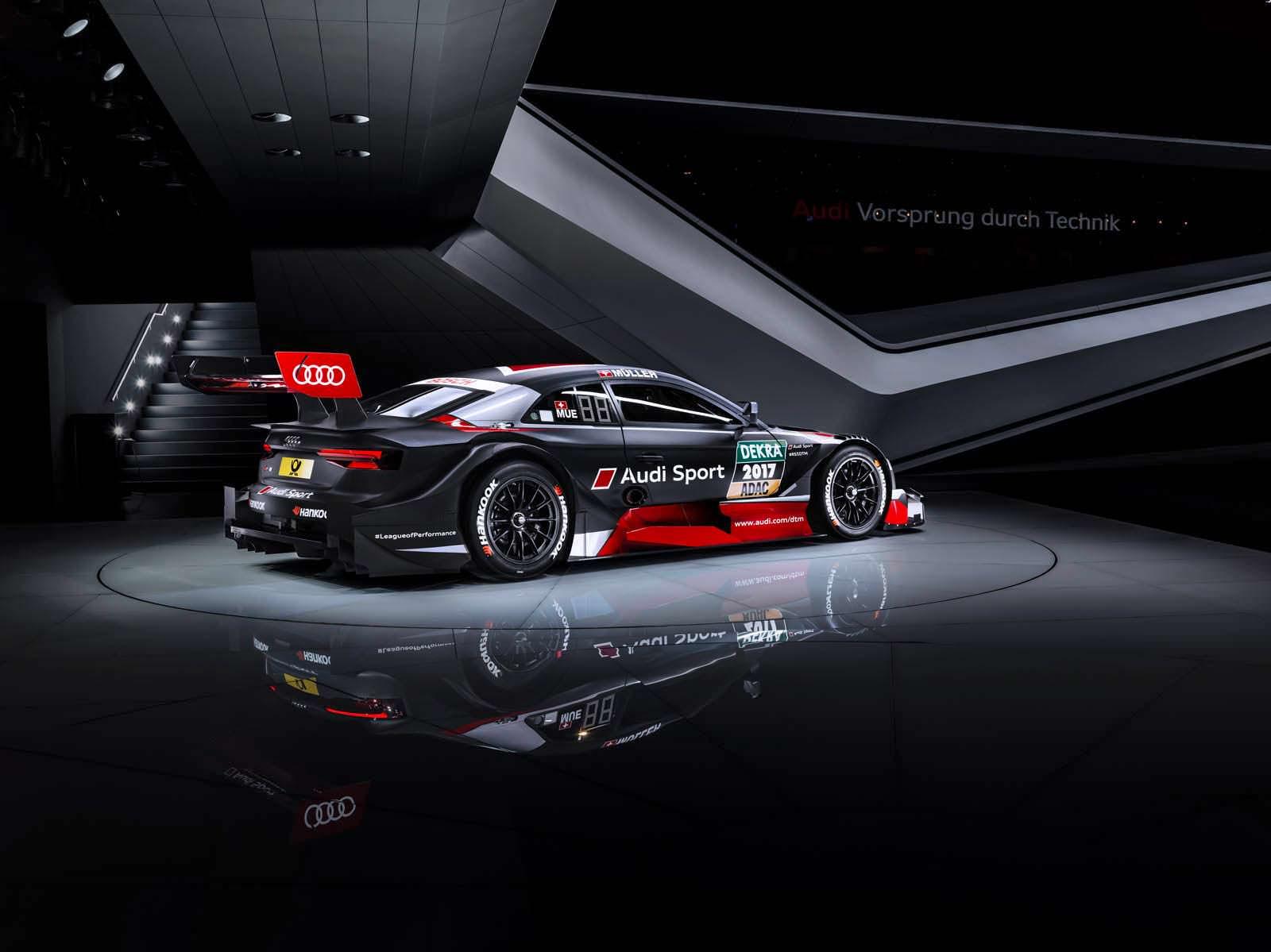 Новая Audi RS5 DTM