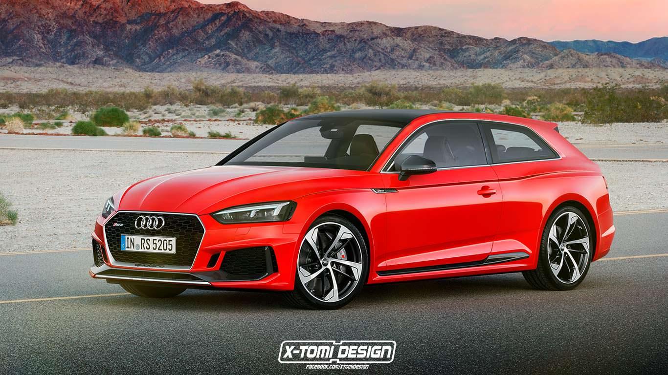 Универсал Audi RS5 Shooting Brake неофициально