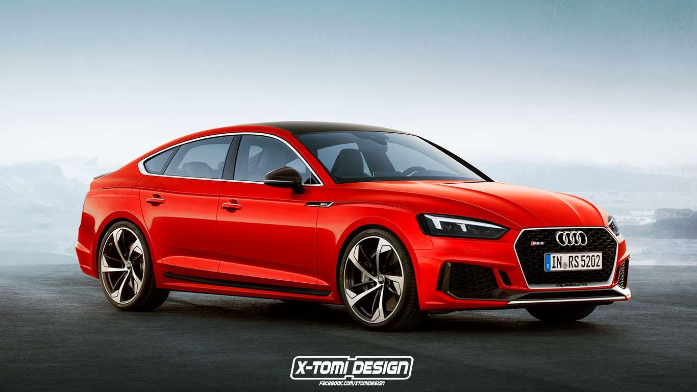 Хэтчбек Audi RS5 Sportback неофициально
