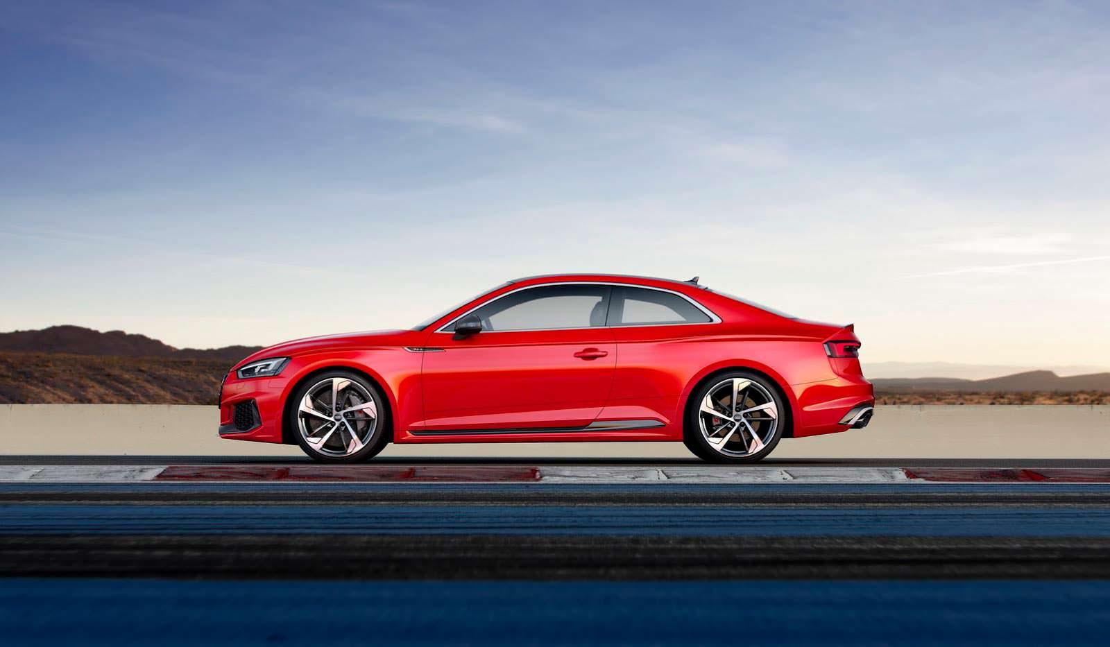 Audi RS5 Coupe нового поколения