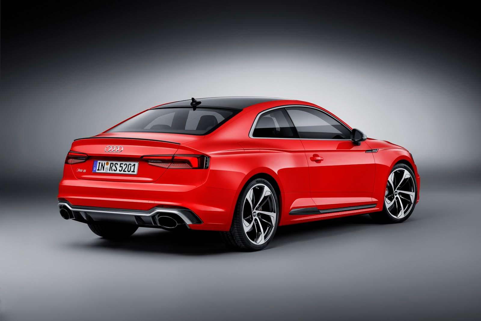 Экстремальное купе Audi RS5