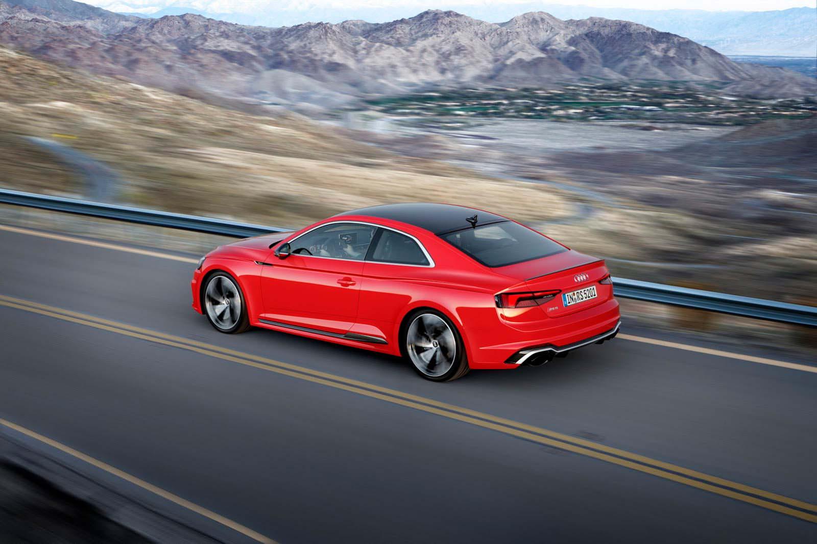 Новое поколение Audi RS5
