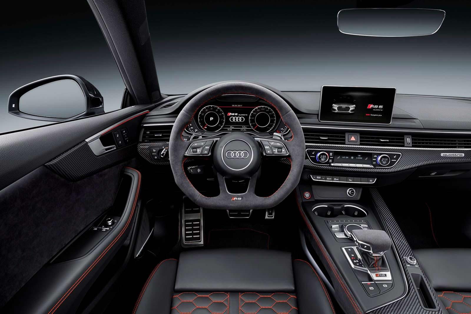 Салон Audi RS5 Coupe 2017