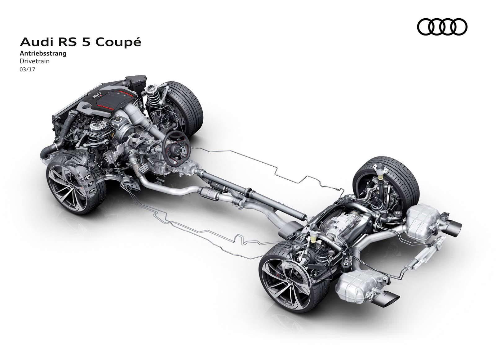 Шасси Audi RS5 Coupe