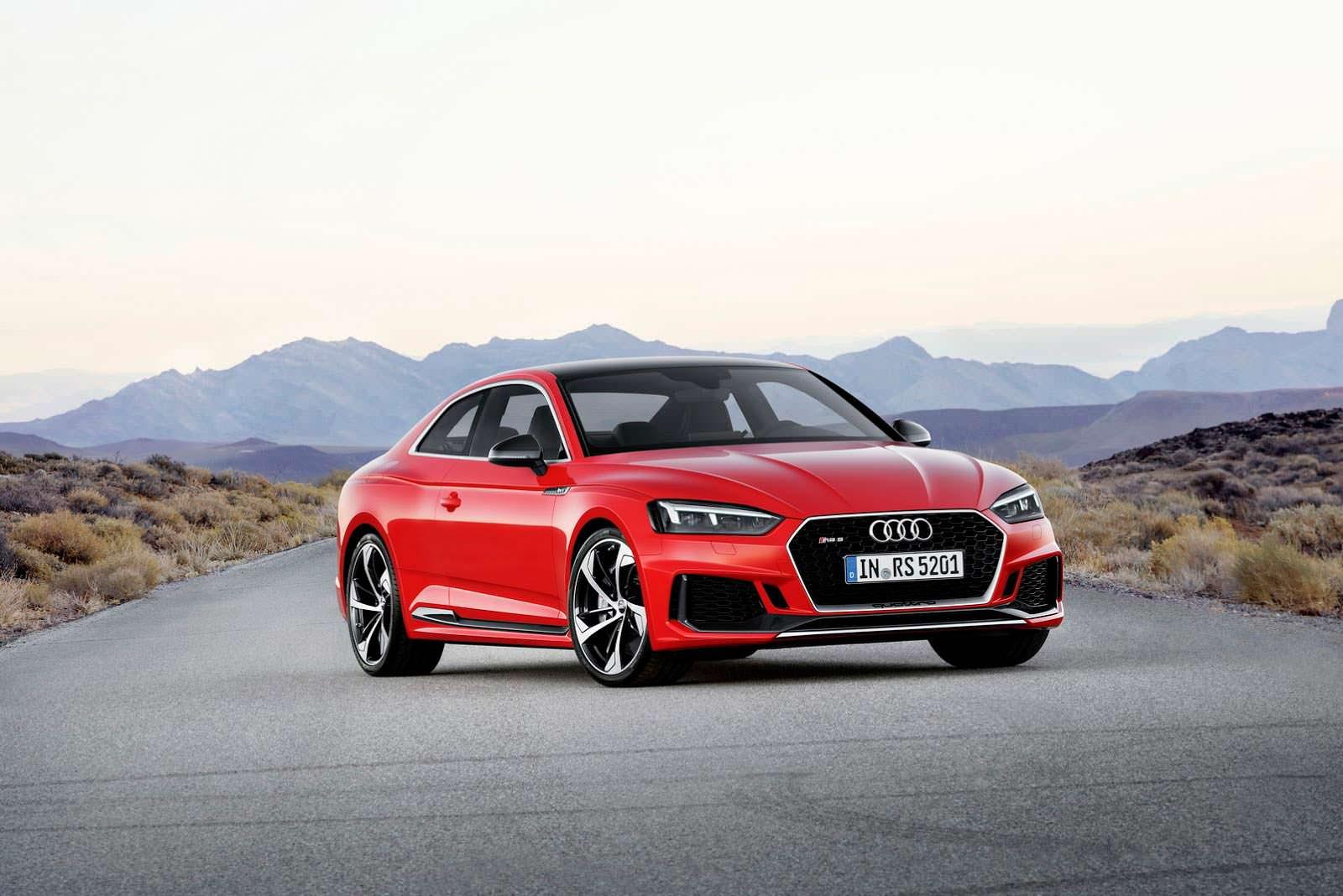 Audi RS5 второго поколения