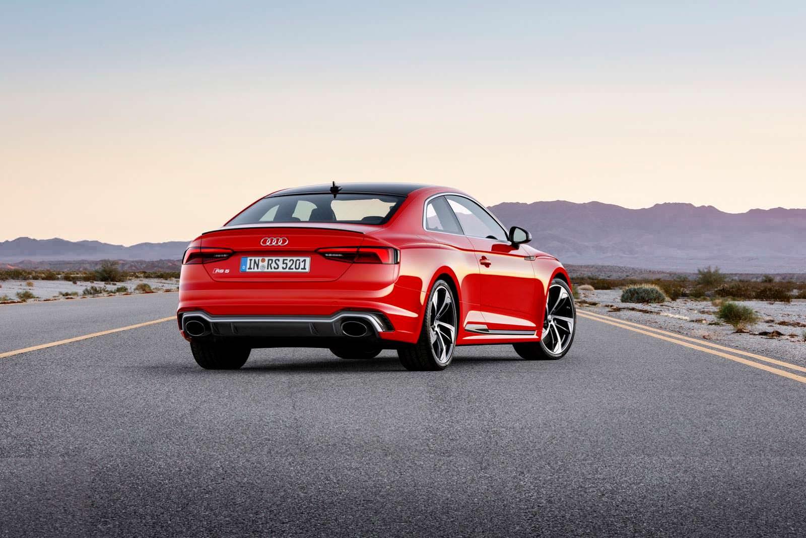 Новая Audi RS5 Coupe