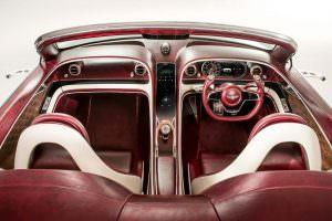 Интерьер Bentley EXP 12 Speed 6e EV Concept