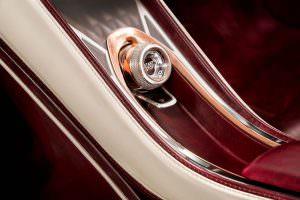 Обшивка салона Bentley EXP 12 Speed 6e EV Concept