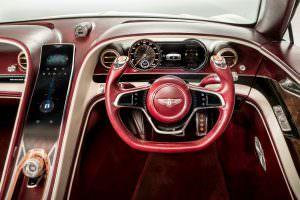 Руль Bentley EXP 12 Speed 6e EV Concept