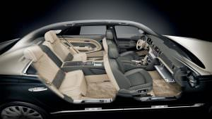 Салон Bentley Mulsanne Hallmark от Mulliner