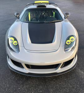 Gemballa Mirage GT Carbon Edition из Porsche Carrera GT