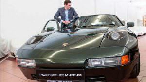Универсал Porsche 928-4 в честь 75-летия Ферри Порше