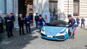 Полицейский Lamborghini Huracan