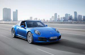 Porsche 911 Targa 4S от Porsche Exclusive