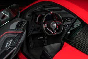 Кожаный салон Audi R8 V10 от ABT Sportsline