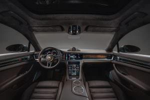 Салон Porsche Panamera Gran Turismo Turbo